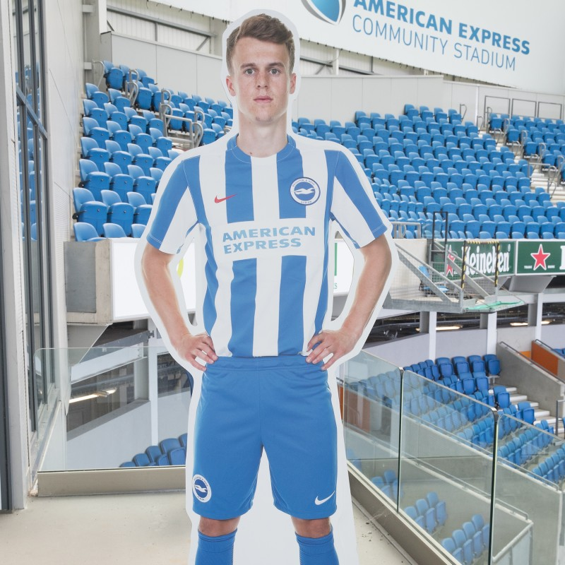 Solly March Signed Cardboard Cut-Out