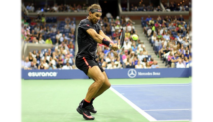 Nadal's Worn Shirt, US Open 2015