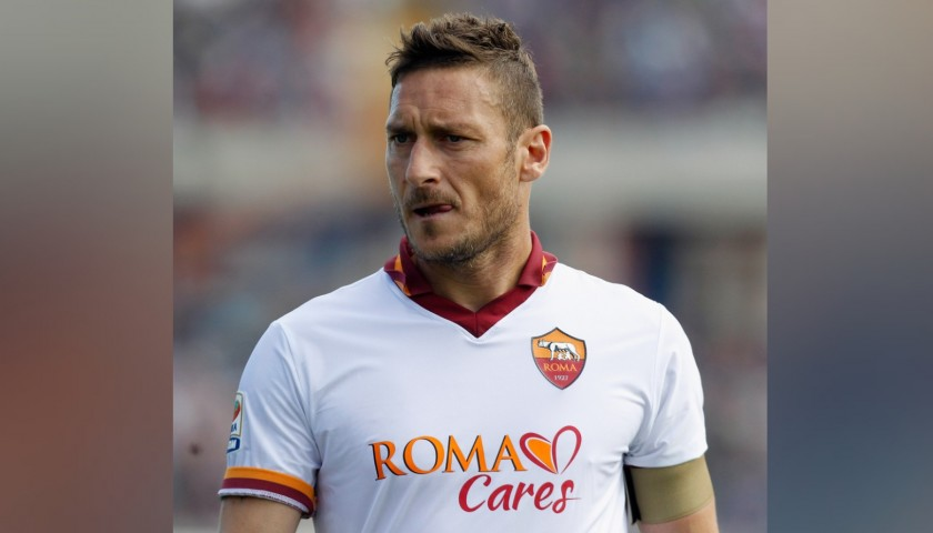 Totti's Official Roma Signed Shirt, 2013/14