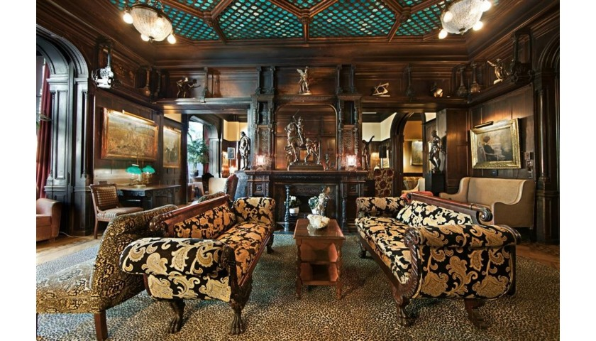 The National Arts Club in NYC: Cocktails and Dinner for 2