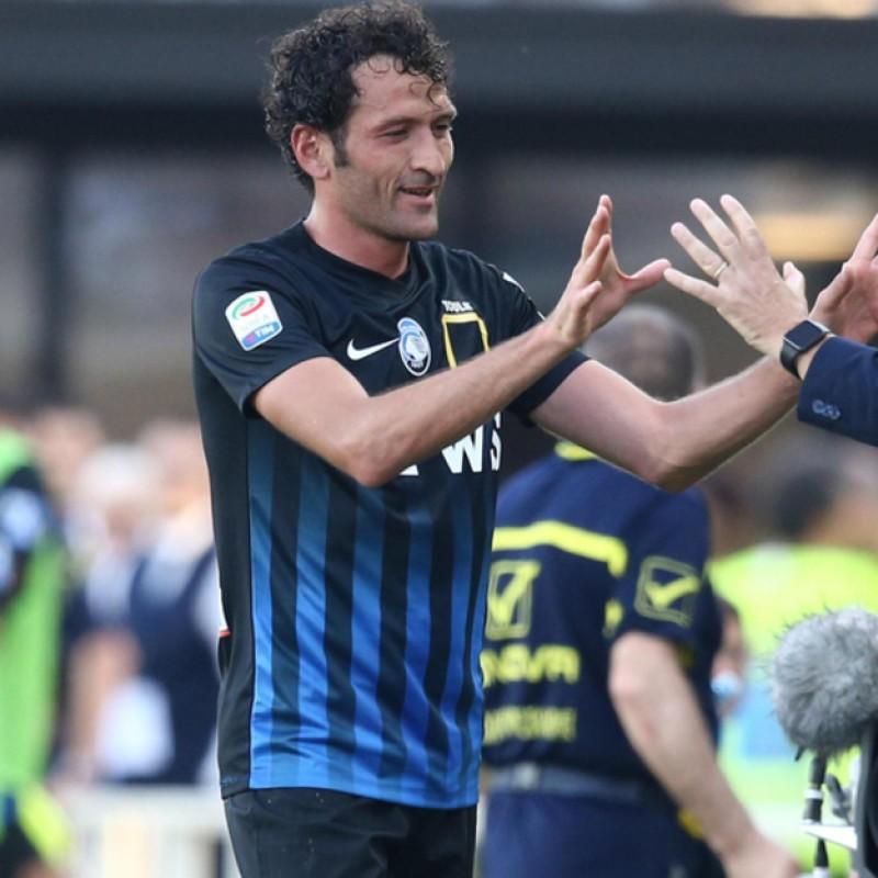 Raimondi Atalanta-Chievo Match-Worn Shirt - Special UNICEF Patch