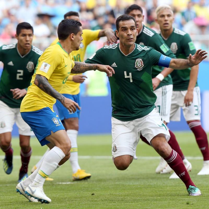 Marquez's Match Shirt, Brazil-Mexico 2018