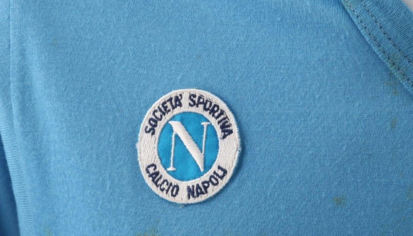 Maradona Napoli shirt, issued/worn 89/90 season - signed