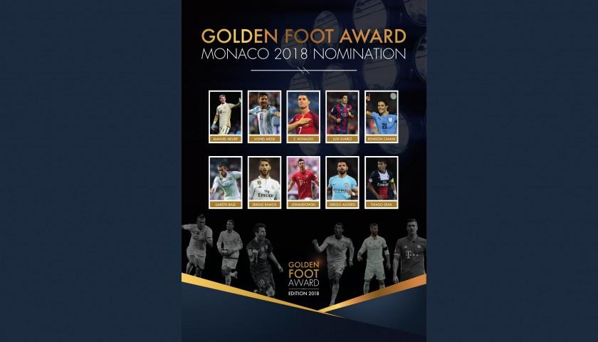 Attend the 2018 Golden Foot Gala Dinner