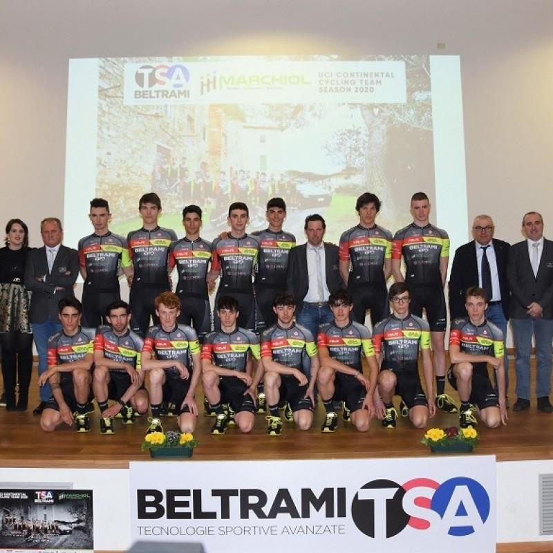 Team Beltrami TSA-Marchiol Race Suit, 2020 - Signed by Gregorio Ferri