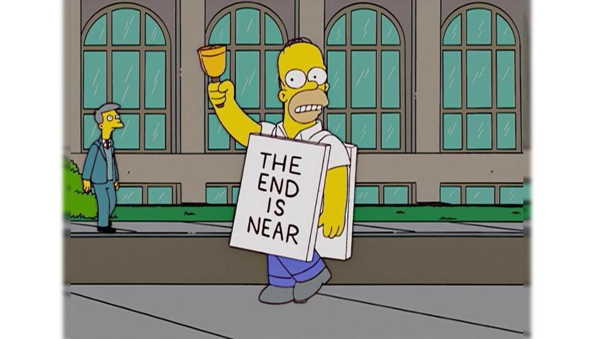 "The Simpsons Original Script - ""Thank God It's Doomsday"""