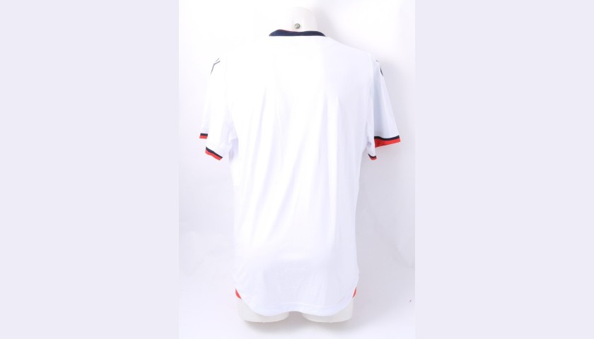 Bolton Wanderers Official Poppy Shirt Signed by the Team