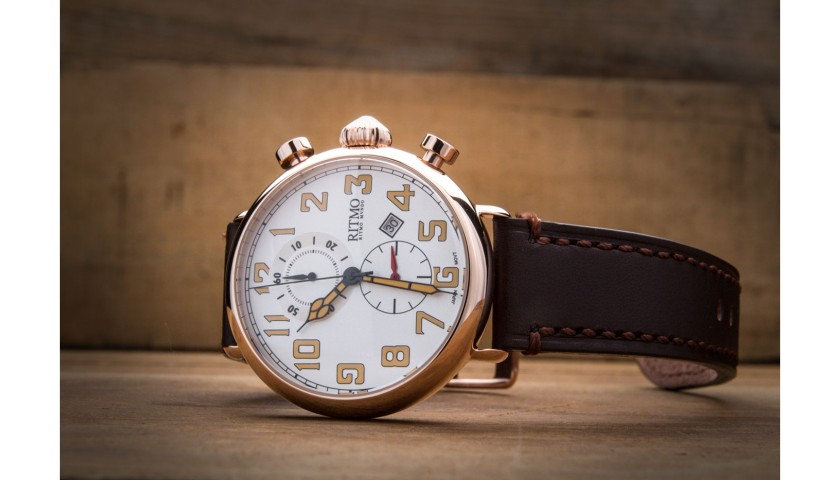 Turismo 705 Silver and Rose Gold Watch from Ritmo Mundo