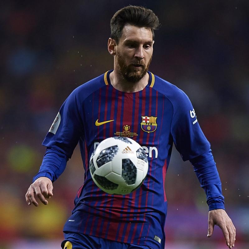 Messi's Barcelona Match Shirt, Copa del Rey Final 2018