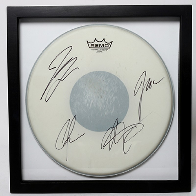 NATHAN FOLLOWILL – Kings Of Leon Signed Drum Head