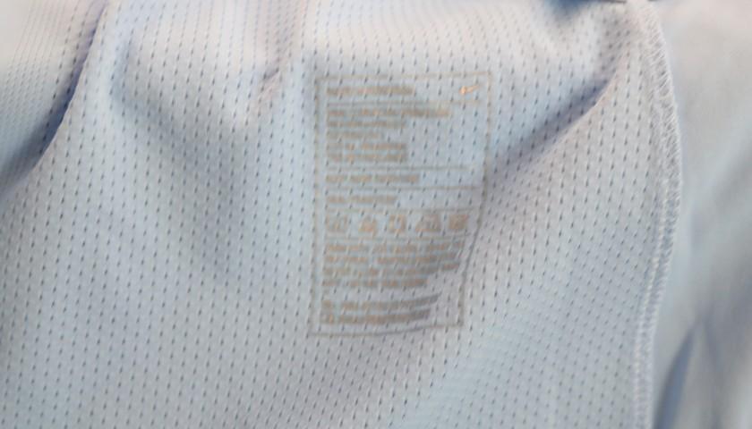 Sane's Manchester City Match Shirt, 2016/17