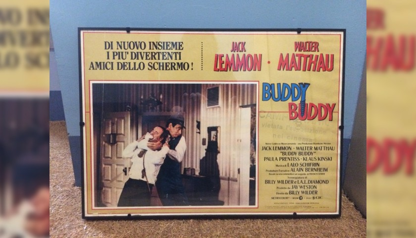"""""""Buddy Buddy"""" Poster"""