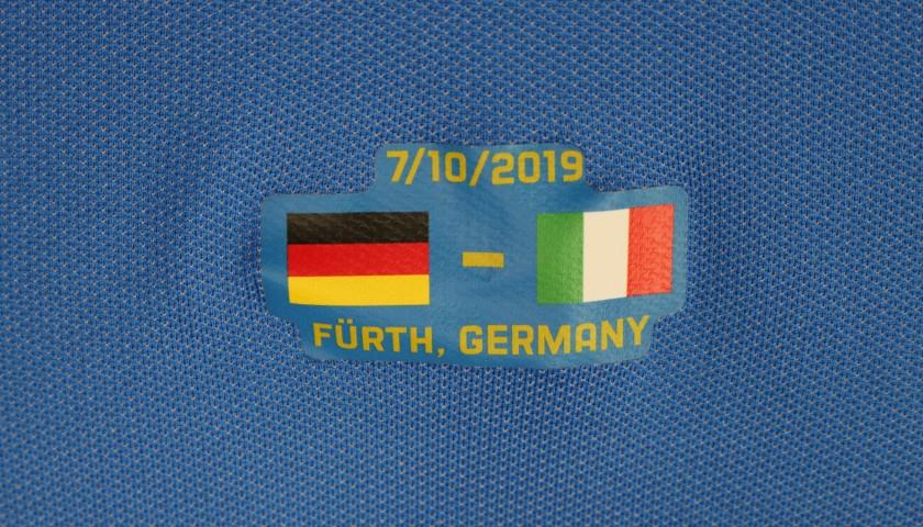 Totti's Match Shirt, Germany-Italy 2019