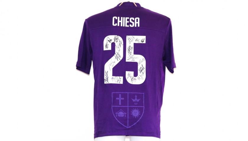 Chiesa's Fiorentina Match-Issue Signed Shirt, 2018/19 Season ...