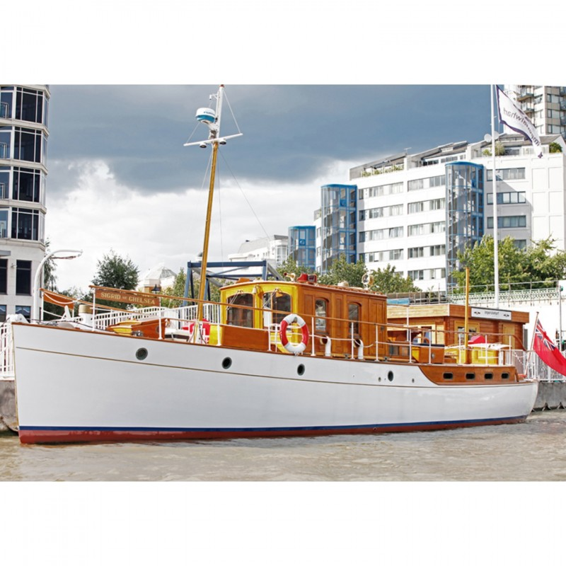 Thames Cruise and Meal aboard Donald Campbell's Yacht for 12