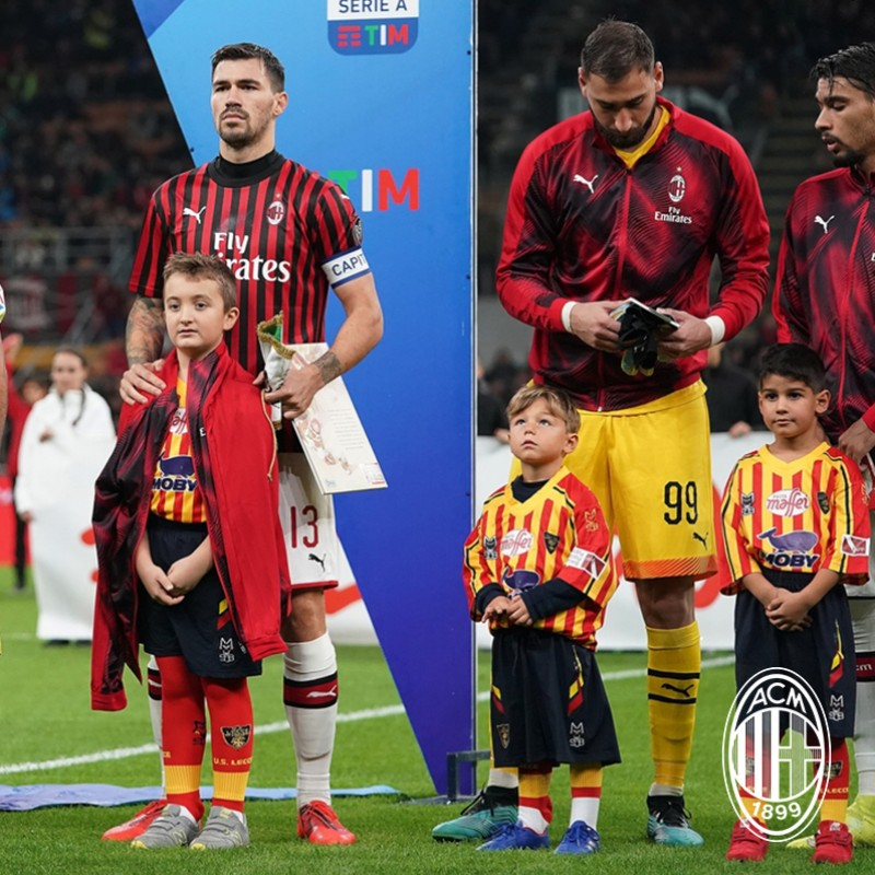 Mascot Experience at the AC Milan-Lazio Match