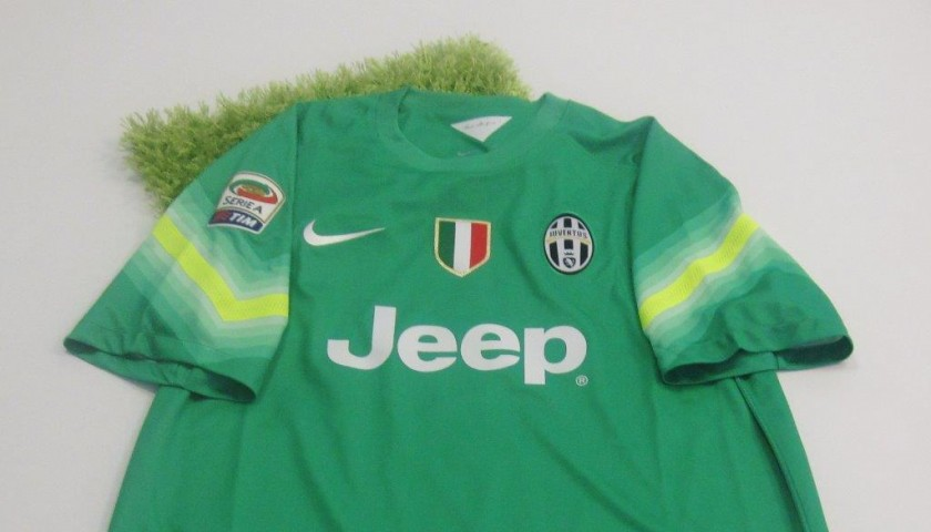 meet 65704 fb655 Buffon Juventus shirt, 2014/2015 season - signed - CharityStars