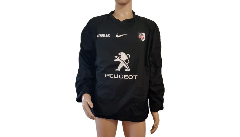 K-way dello Stade Toulousain indossato da Ghiraldini