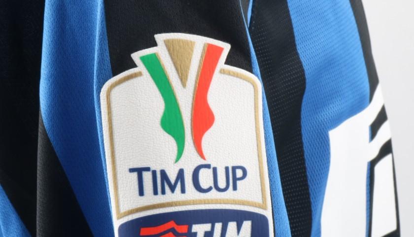 Ljajic Inter Milan Match Worn Shirt, Tim Cup 2015/16 - UNWASHED