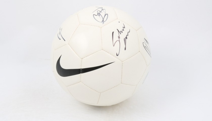 Official Nike Football Signed by The Fourmidables