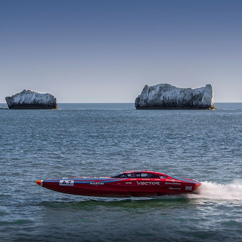 "An Offshore Powerboat 'Hot Lap"" Experience of the Isle of Wight for 2"