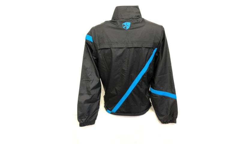 Inter Official Track Jacket Signed by Zanetti