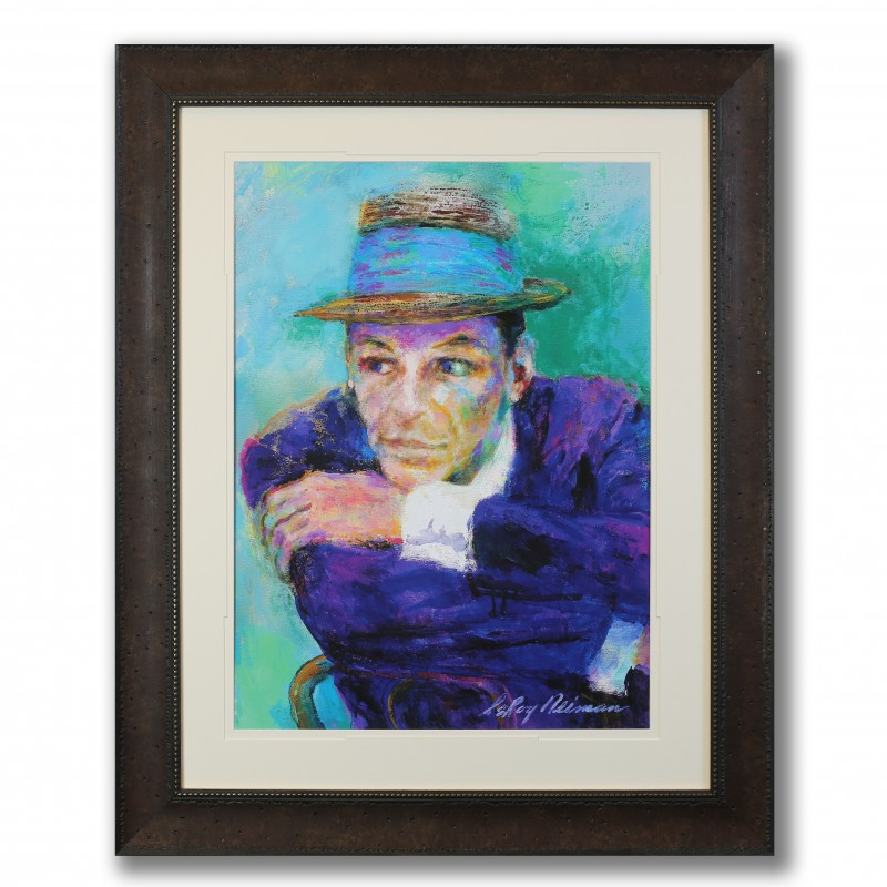 "Frank Sinatra ""The Voice"" Art Print by Leroy Neiman"