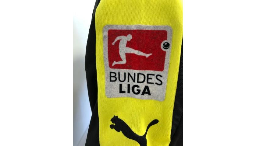 Aubameyang S Official Borussia Dortmund Signed Jersey 2013 14 Charitystars
