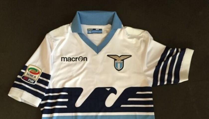 Biglia match issued shirt, Lazio Parma Serie A 2014/2015
