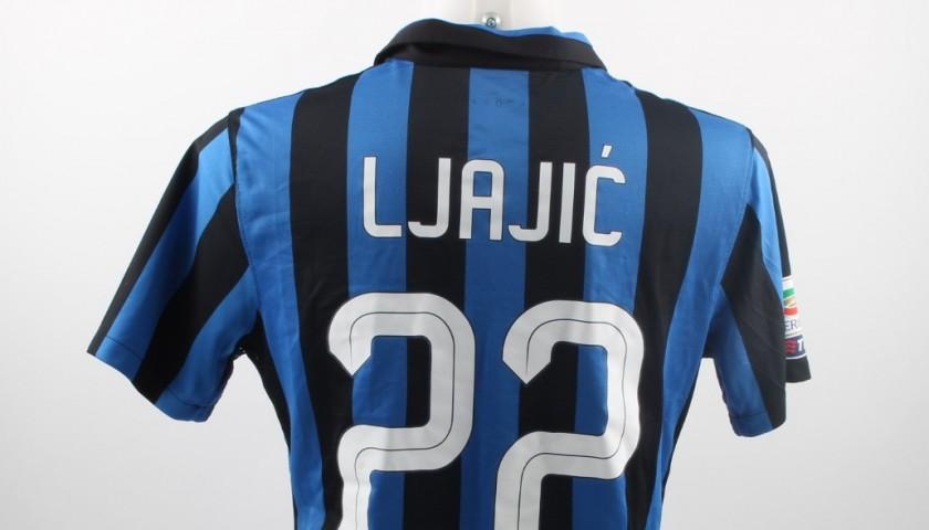 on sale ad0ec 16c11 Ljajic Inter match worn shirt, Serie A 2015/2016 - CharityStars