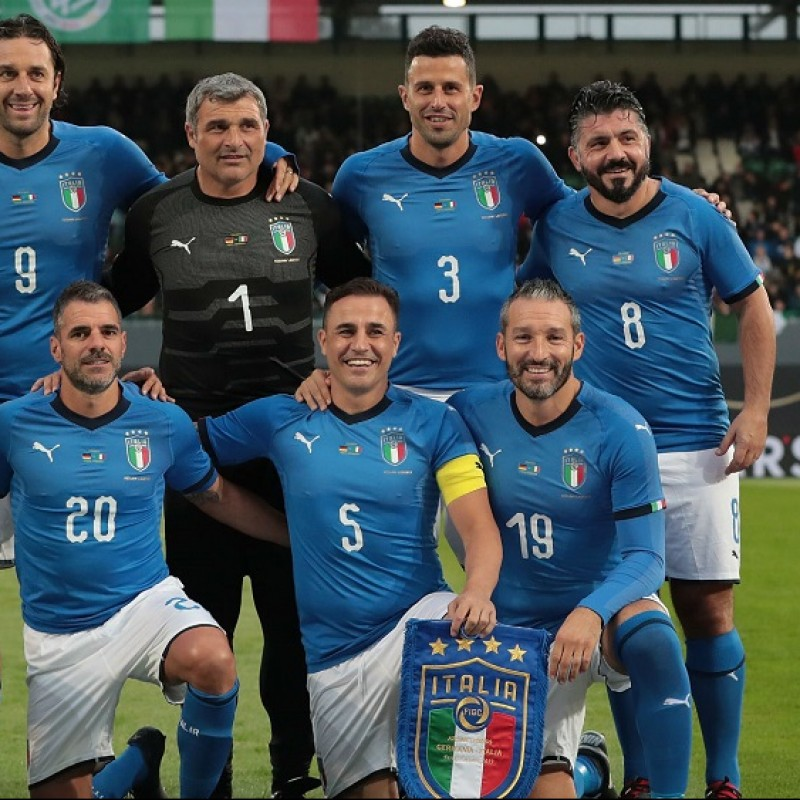 Cannavaro's Match Shirt, Germany-Italy 2019