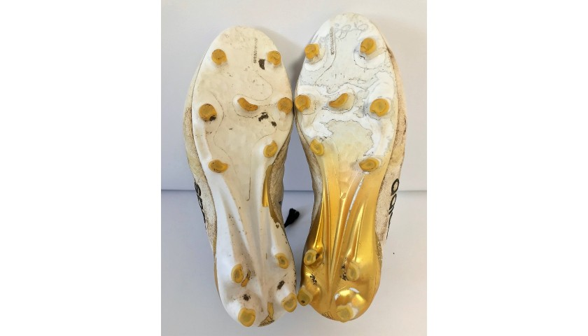 Felipe Anderson's Worn Adidas Boots, 2016/17