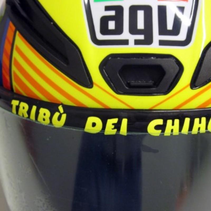 Valentino Rossi signed helmet