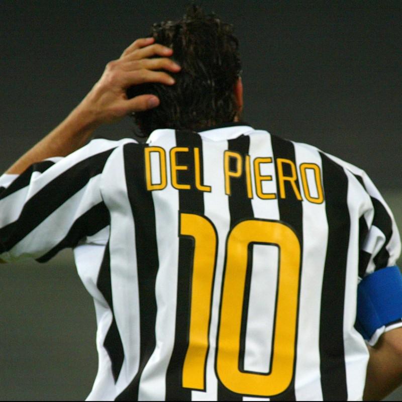 Del Piero's Official Juventus Signed Shirt, 2003/04