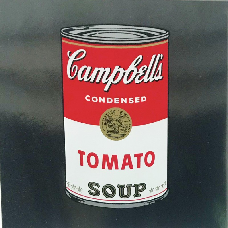 """""""Campbell's Soup Can"""" by Andy Warhol"""