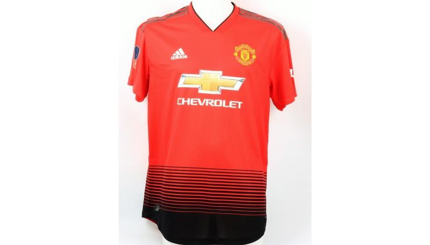 timeless design 1ff14 6fc9b Lukaku's Match Shirt, Chelsea-Manchester United 2019 - CharityStars