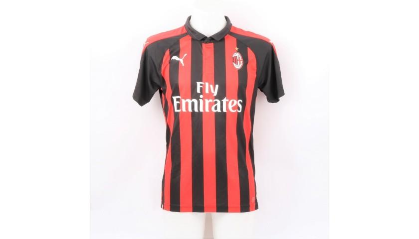 Calabria's AC Milan Match Signed Shirt, 2018/19