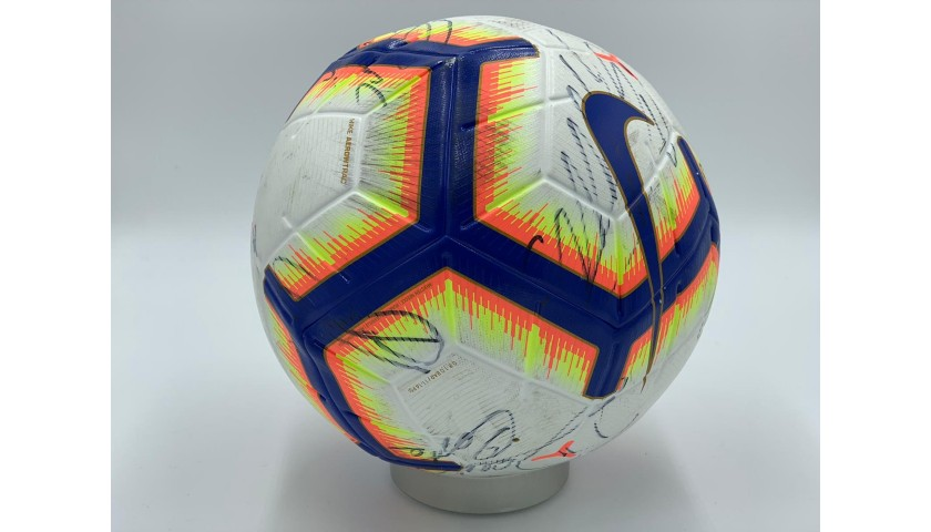 Serie A 2018/19 Matchball - Signed by Juventus