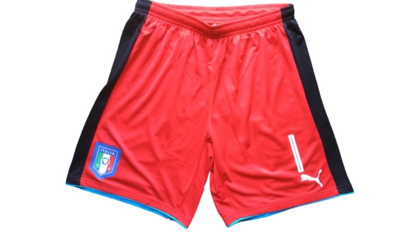 Buffon's Match Shorts, Germany-Italy 2016