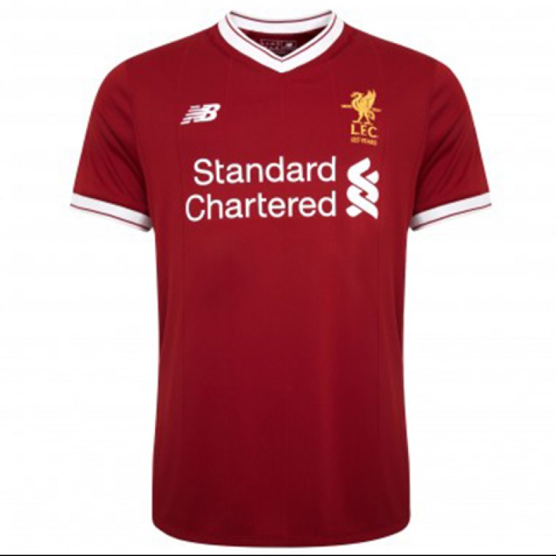 First Team Personalized LFC 17/18 Home Shirt