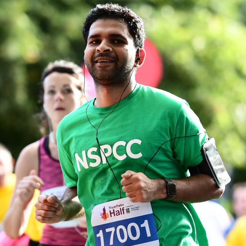 NSPCC Royal Parks Half Marathon Place