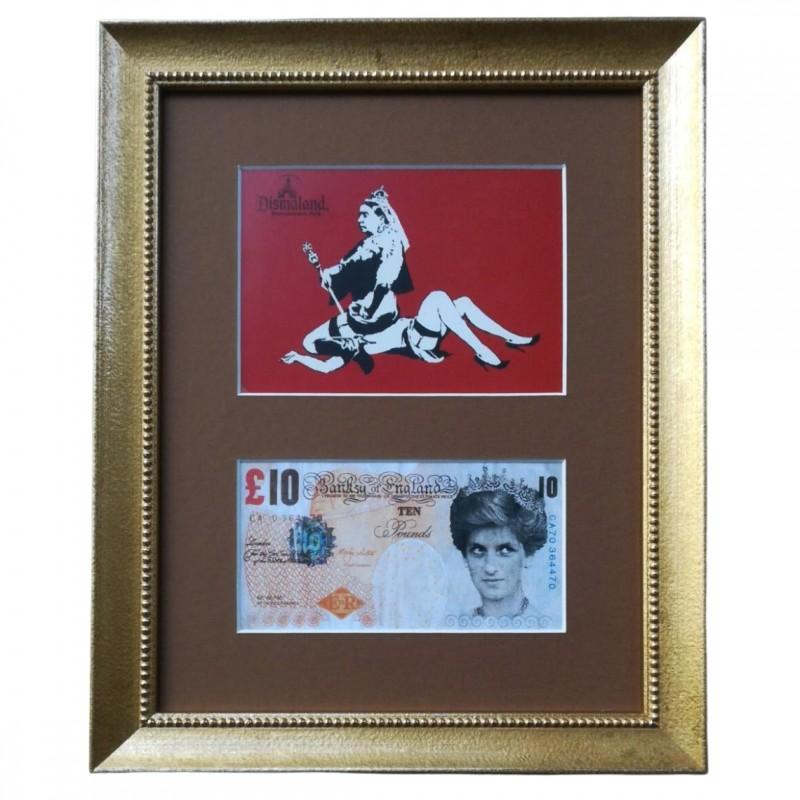 Original Banksy Di-Faced Tenner