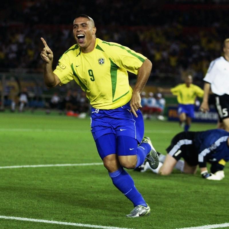 Ronaldo's Brazil Match Shirt, WC 2002