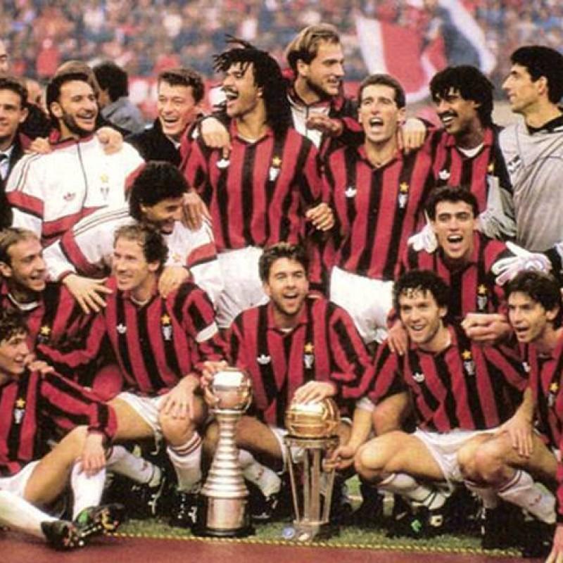 Costacurta's Milan Match Kit, 1990/91 Season