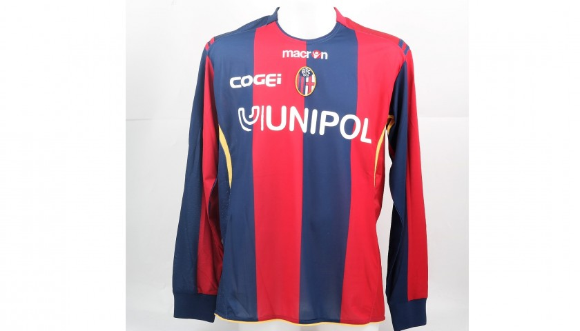 Volpi S Match Issued Worn Bologna Shirt Serie A 2008 09 Charitystars