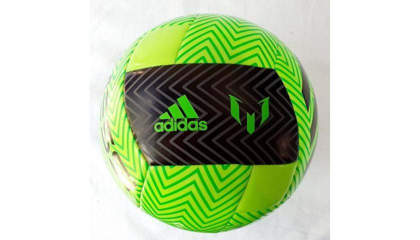 Adidas Football Signed by Messi