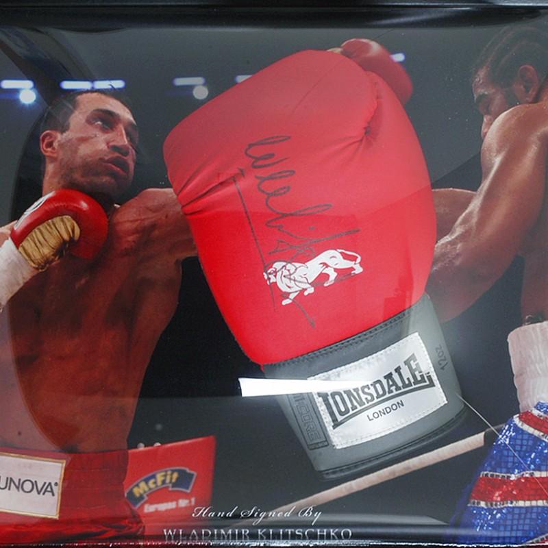 Wladimir Klitschko Hand Signed Boxing Glove Presentation