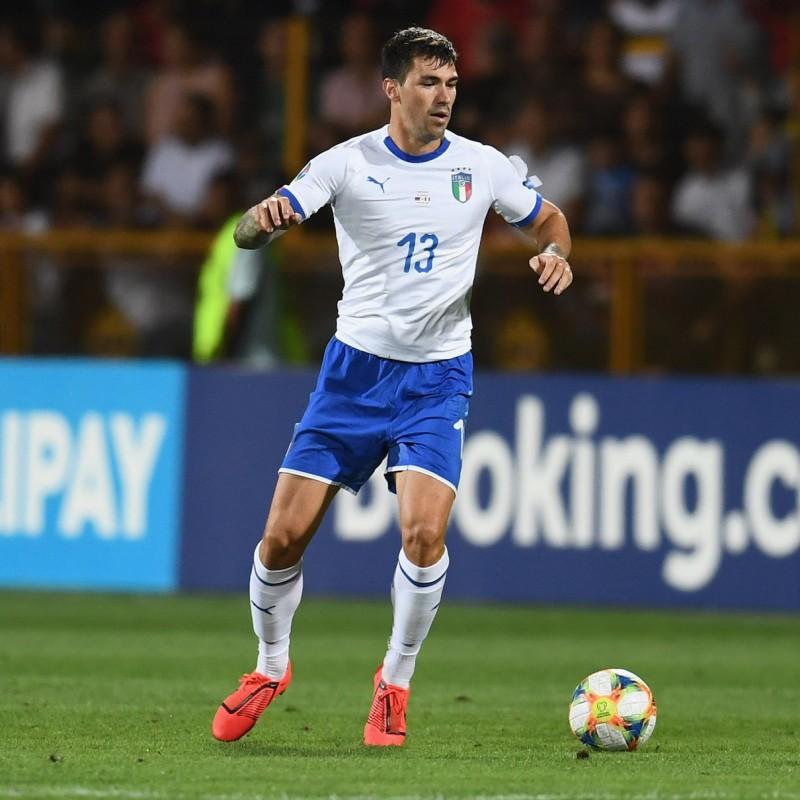 Romagnoli's Match Shirt, Armenia-Italy 2019