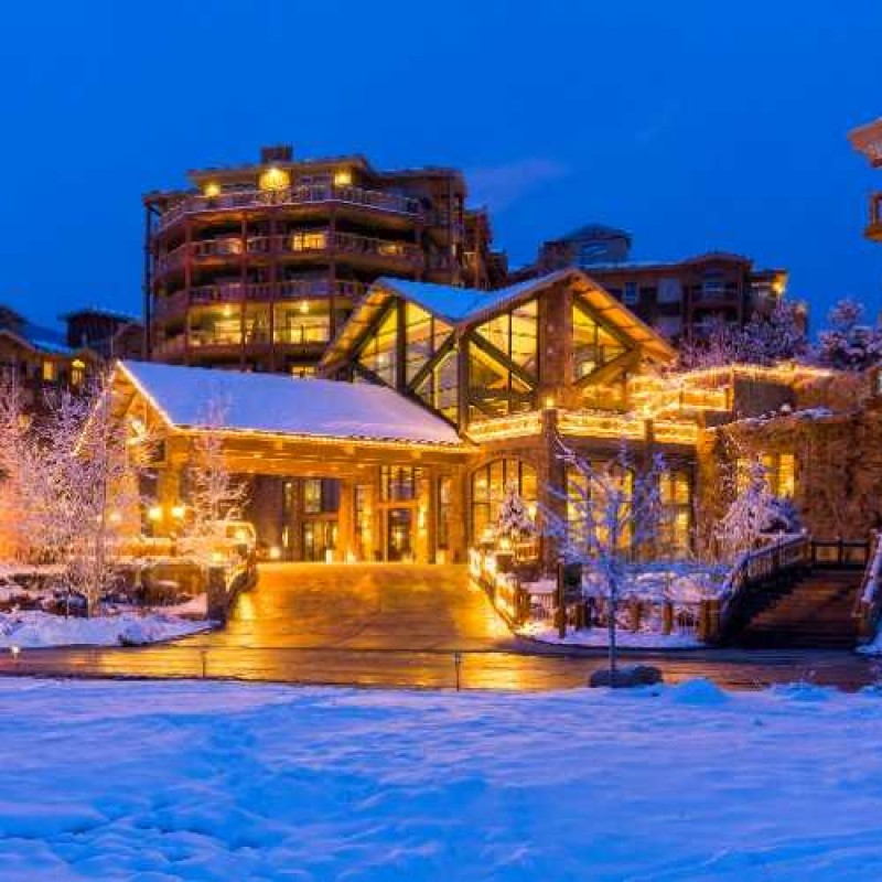 Park City Getaway for Two Including Airfare