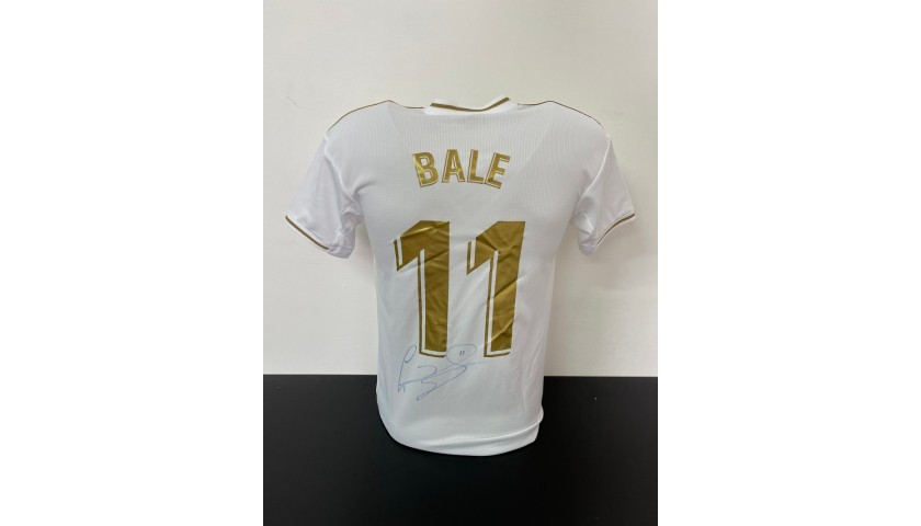 Bale's Official Real Madrid Signed Shirt, 2019/20